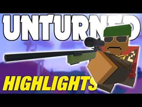 Unturned PUBG Stream Highlights! (2,300 Subs!)