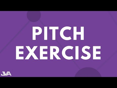 PITCH EXERCISE #1 - VOCAL EXERCISE