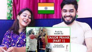 INDIANS react to Tailor Prank | Nadir Ali | P4 Pakao