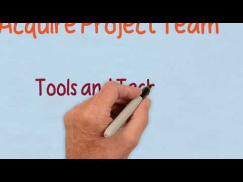 Drawn Out Project Management: Acquire Project Team Process