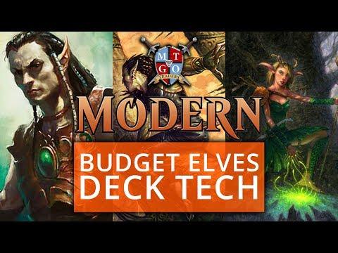 Budget Elves Modern Deck Tech MTG