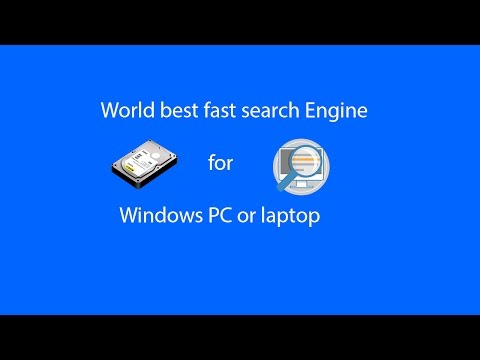 World best fast Data search Engine for Windows PC or laptop in offline