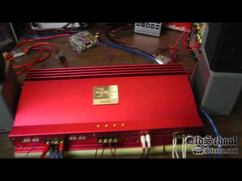 Sony Big Red Mobile ES XM-7547 4 Channel Big Power Xplod Part 2 Demo