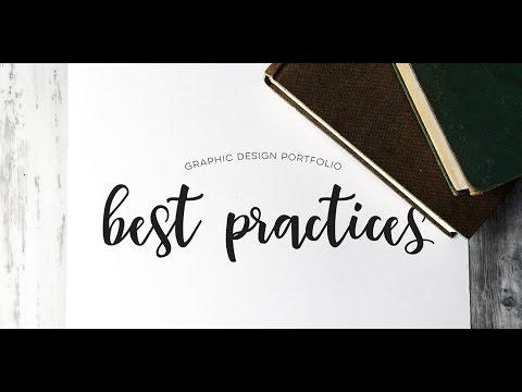 Graphic Design Portfolio Best Practices