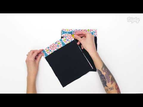 Learn To Make A Snap Pouch With Any Design | Crafty