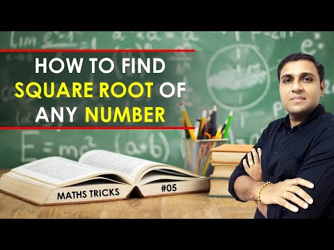 Secret Math Trick I How to do square root I Fast Math Trick