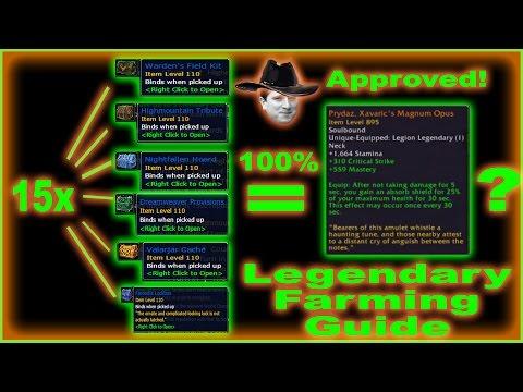 Easy 100% Legendary Drop Way - Legit Legion Farming Guide - Kappa Approved