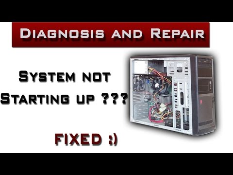 PC not starting up ??? | Dead PC Diagnosis and Repair
