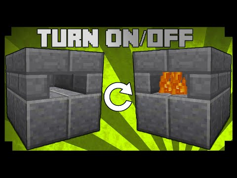 ✪Minecraft: How to make a working pizza oven!