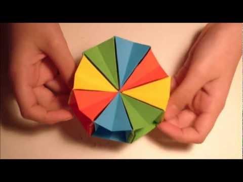 How To Make an origami Magic circle