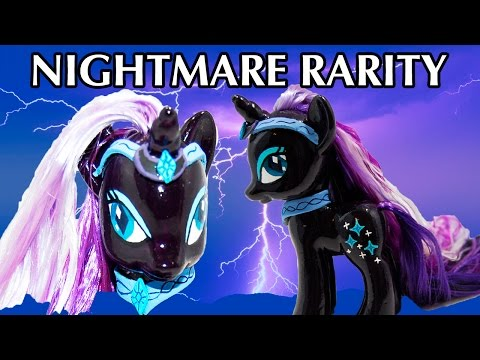 Custom NIGHTMARE RARITY MLP Tutorial My Little Pony