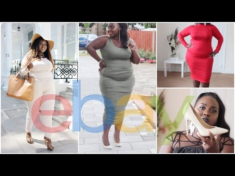 HOW TO SHOP FOR CLOTHES ON EBAY + EBAY PLUS SIZE  CLOTHING HAUL