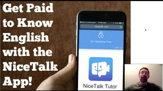 How to be a paid English Tutor with the NiceTalk App (No Experience Needed!)