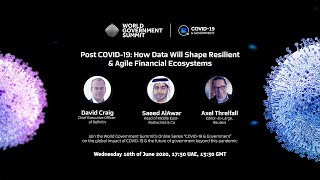 Post COVID-19: How Data Will Shape Resilient & Agile Financial Ecosystems
