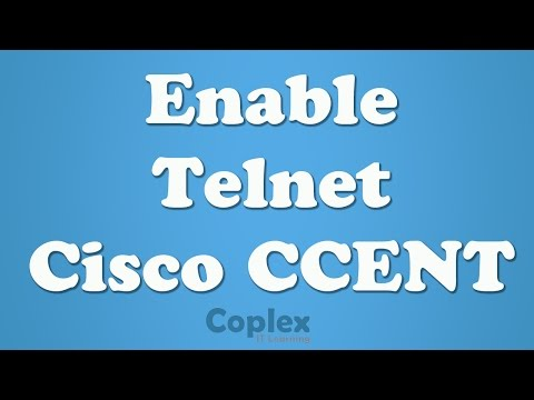 How to Enable Telnet on a Cisco Switch or Router
