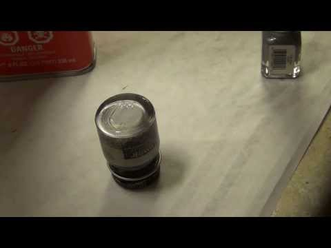 Opening stuck model paint lids - tip
