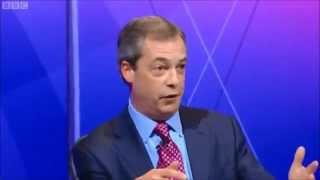 UKIP Nigel Farage - BBC Question Time Jan 2013