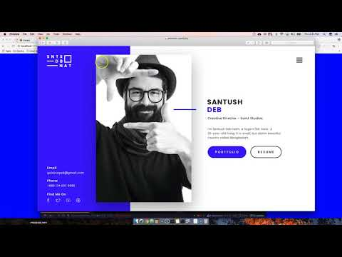 #1 Tutorial on Creating Your Personal Static VCard / Portfolio
