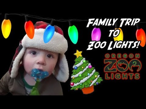 Oregon Zoo Lights - How to Beat the Crowds