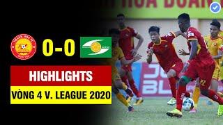 Highlights Thanh Hóa - Sông Lam Nghệ An   Phan Văn Đức rời sân bằng cáng - HLV Park lo sốt vó