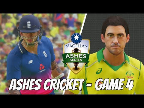 ASHES CRICKET 2017 LAUNCH DAY - ENGLAND v AUSTRALIA (5 over) GAME 3