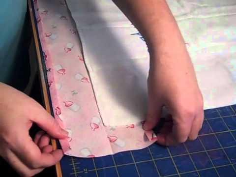 How to make a burp cloth.mp4