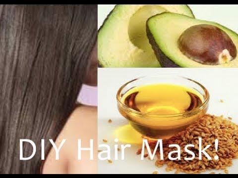 DIY Hair Mask- Avocardo & Flaxseed Oil for Incredible Healthy, Silky Hair!