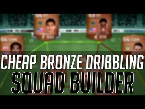 THE BEST AFFORDABLE BRONZE DRIBBLING HYBRID SQUAD | FIFA 14 Ultimate Team Squad Builder (FUT 14)