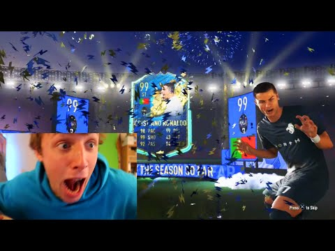 DOES 20,000,000 COINS PACK YOU 99 TOTS RONALDO?! - FIFA 20