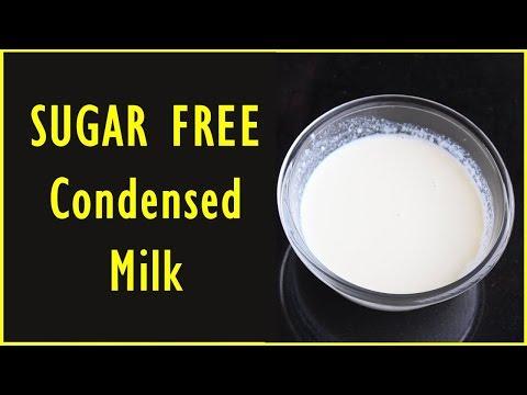 How to make Sugar free Condensed Milk | Sugar Free Condensed Milk Recipe
