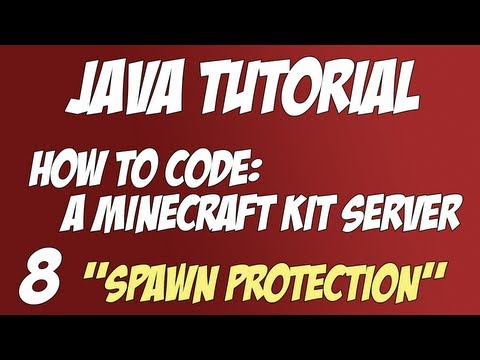 Java Tutorial: How to code a Minecraft Kit Server #8