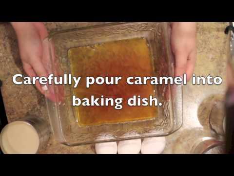 como hacer flan / caramel custard / Leche flan