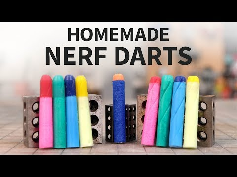 Making the ULTIMATE Nerf Dart? (An Adventure in Foam & Silicone Casting)