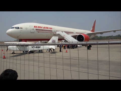 At the Hyderabad Air Show - India Aviation 2016