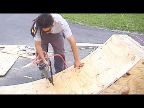 How To Build A Miniramp