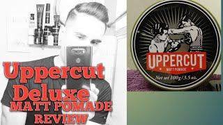 Uppercut Deluxe Matt Pomade Review