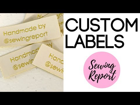Sew Labels Onto Your Clothing | Dutch Label Shop Custom Labels | SEWING REPORT