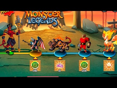Monster Legends Подеремся