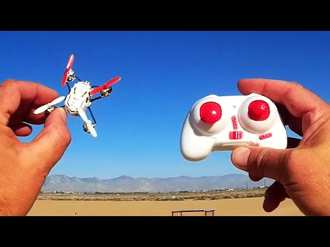 Hubsan H111 Nano Q4 Drone Test Flight