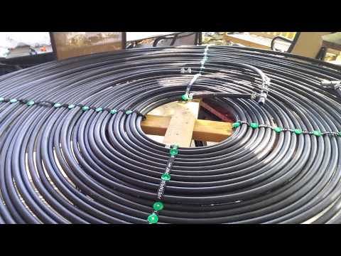 Home Made Solar Pool Heater Part 1