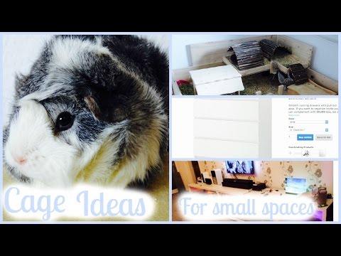 Space-Saving Guinea Pig Cage Ideas