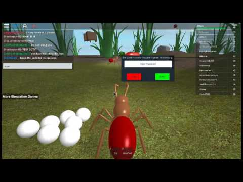 How to get a Worker Ant lay eggs in Ant Simulator!