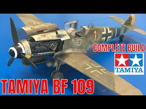 Building the new Tamiya 1/48 Messerschmitt BF109 G6  Complete step by step
