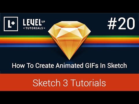 Sketch App Tutorials #20 - How To Create Animated GIFs In Sketch