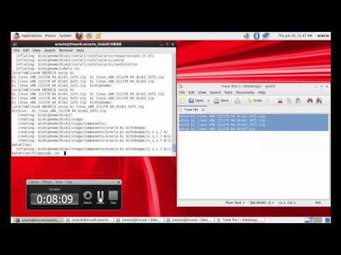 OBIEE 11g Installation on linux Vm