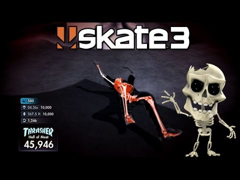 Skate 3: Breaking Bones [PS3 Gameplay, Commentary]