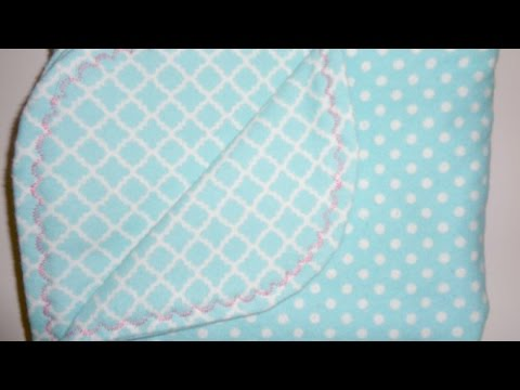 Make a Baby Blanket with Decorative Borders - DIY Crafts - Guidecentral
