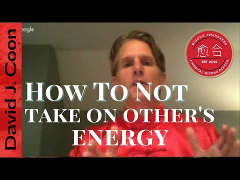 How To Not Take On Other People's Emotions & Energy