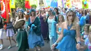 Goddess Conference 2011. Pt. 1: procession to the river Brue