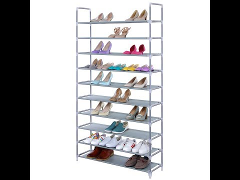 SONGMICS 10-Tier Shoe Rack (No Cover)  Series